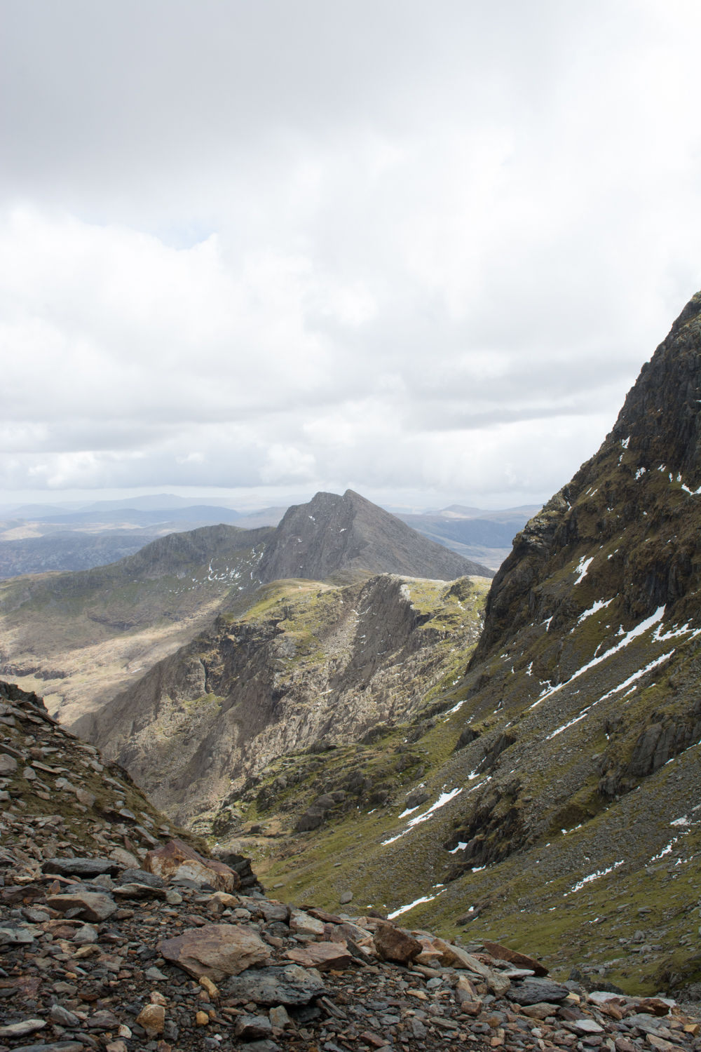 North Wales Snowdonia Photo Diary Snowdon PYG track Miners path
