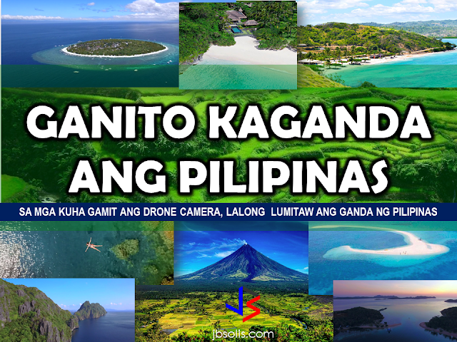 Philippines is a beautiful archipelago with 7,107 islands. With vast natural charm complimented by the smile of the dwellers, the Philippines has become an irresistible destination among other nationals who wish to relax and enjoy nature.   The fast paced modern technology gave birth to the drone cameras, which is useful in reaching  and taking photos or videos that cannot be covered  even by the strongest camera zoom ever existed.  And with this drone cameras used to record videos and snap photos, the beauty of the Philippines has become more vivid. The Pearl of the Orient has  once again shone her beauty with pride for the entire world to behold.  Here is a video clip from Christer Isulat. The Philippine Islands filmed using a drone camera.             (Some photos from Nani Dinsay)             The Philippines has many beautiful spots yet to explore. With great beaches, excellent food and wonderful people, it has been a paradise to all who has already experienced the bliss of being one with nature.    ©2017 THOUGHTSKOTO