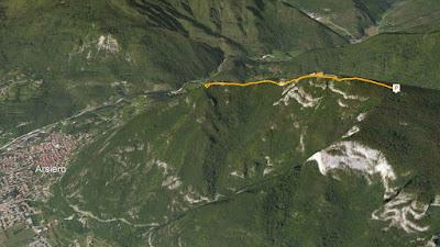GPS Bivacco Vettori al Monte Cavioio
