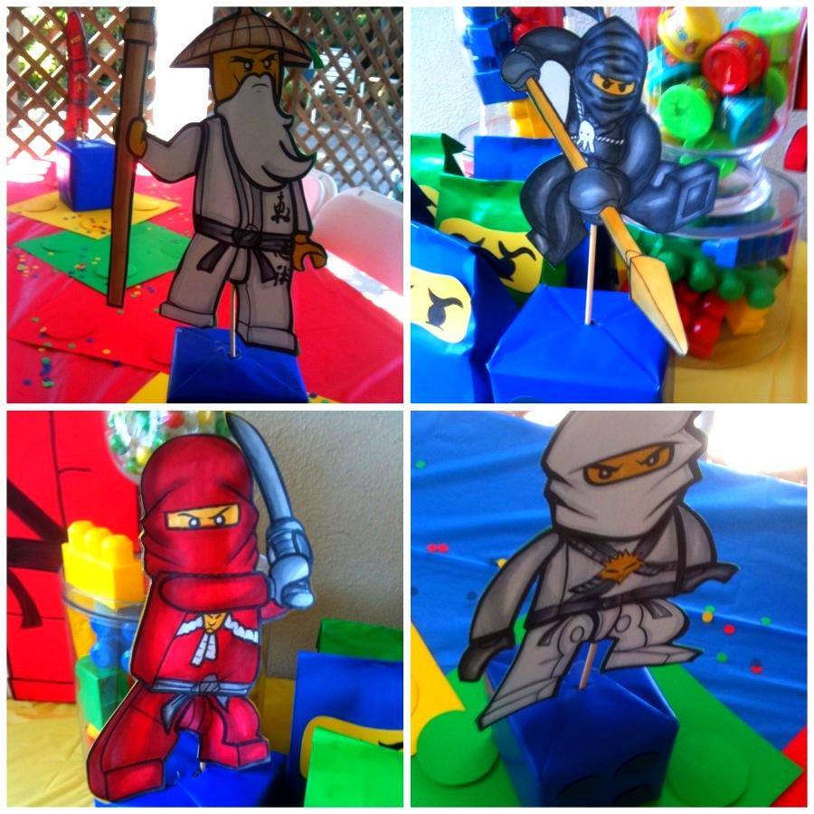 A Lego Ninjago Birthday Party: Printable Files Are Here!