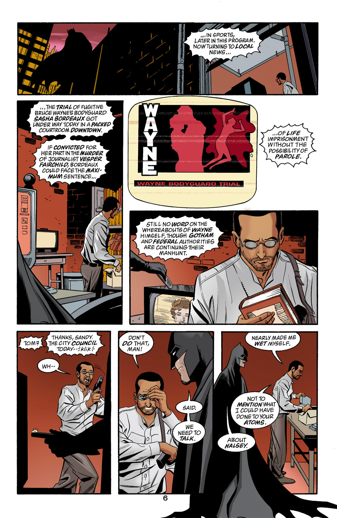 Detective Comics (1937) 771 Page 6