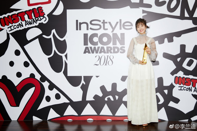 Li landi InStyle Icon Awards 2018