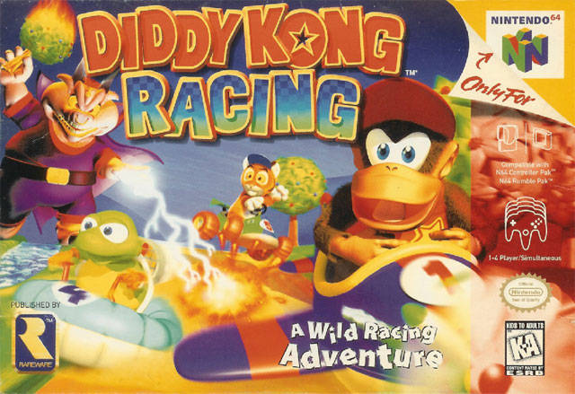 ROMs - Diddy Kong Racing (Português) - N64 Download