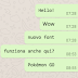 Whatsapp introduce un nuovo font