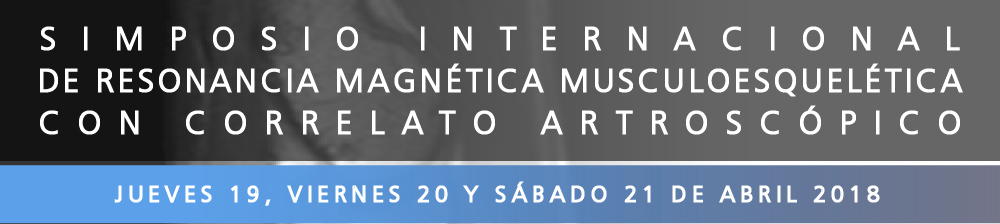 Simposio Internacional de Resonancia Magnética y Correlato Artroscópico
