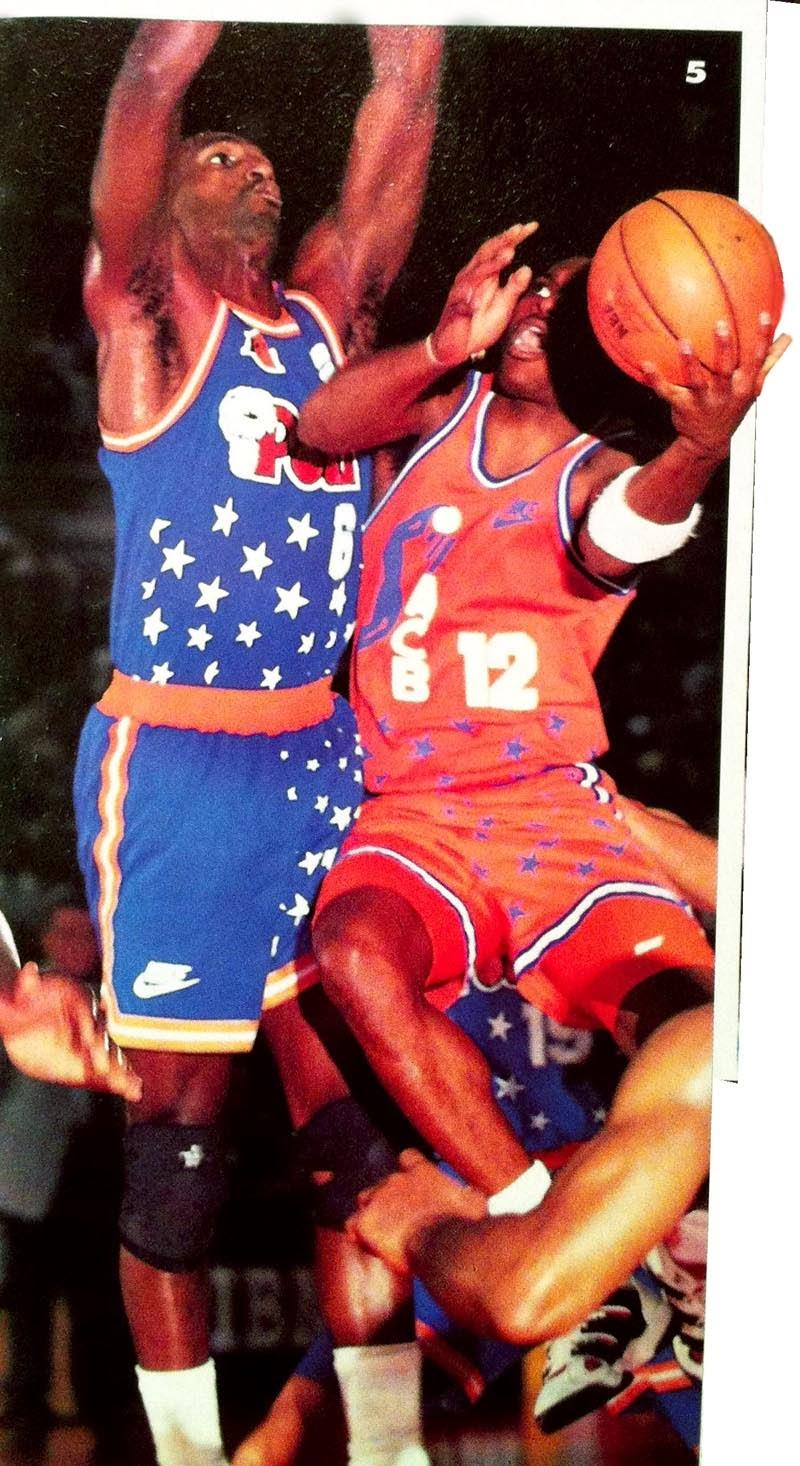 reputable site 722c2 6794c Hopson en el All-Star 1993 de Roma, entre la ACB y la Lega