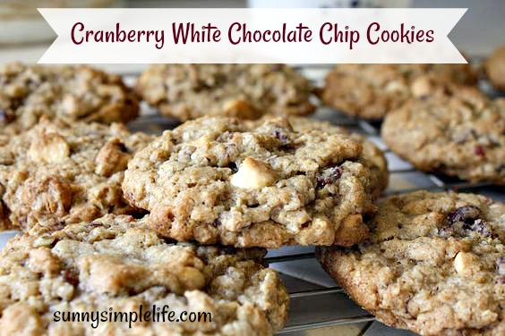 Christmas cookies, cranberry recipes