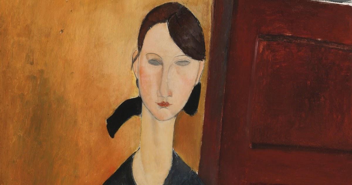 Amedeo Modigliani: Portrait Of Paulette Jourdain, 1919
