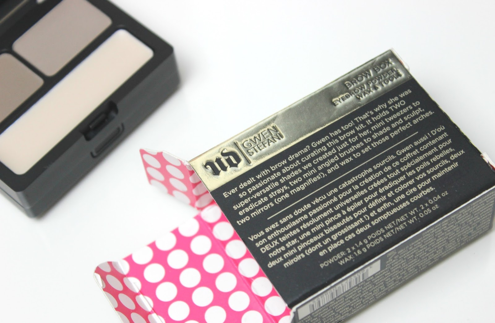 Gwen Stefani Brow Box | Tattooed Tealady