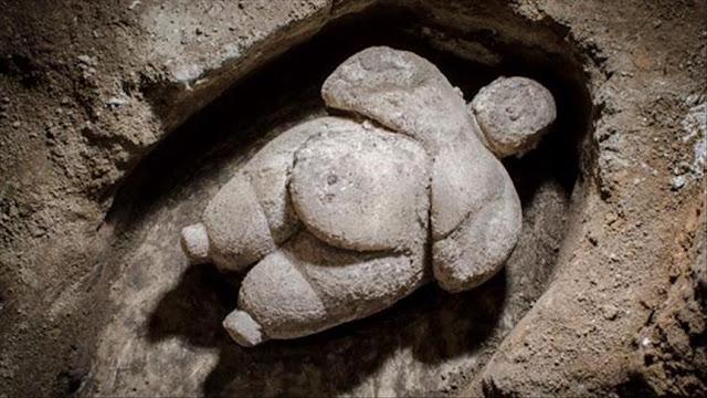 Neolithic figurine unearthed at Çatalhöyük