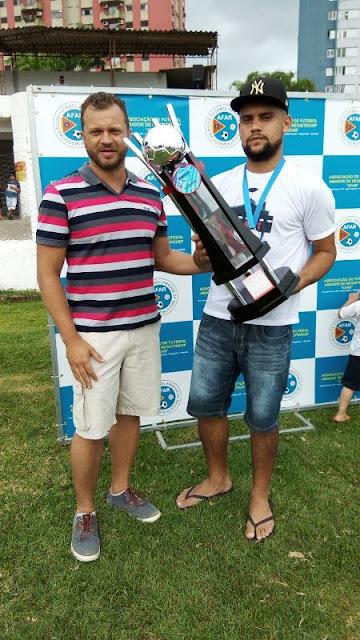 Fucasa conquista a Copa e a 1ª Divisão de Futebol em Registro-SP
