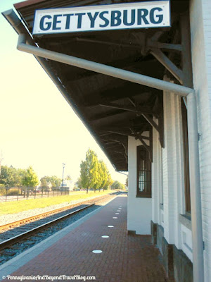 Historic Gettysburg Railroad Station in Gettysburg Pennsylvania