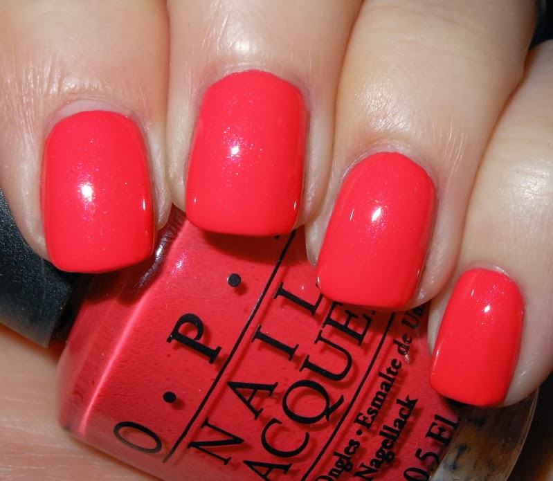 Imperfectly Painted Opi I Eat Mainely Lobster