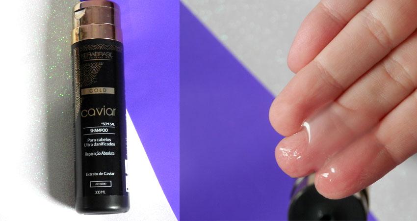 recuperação cabelos com caviar