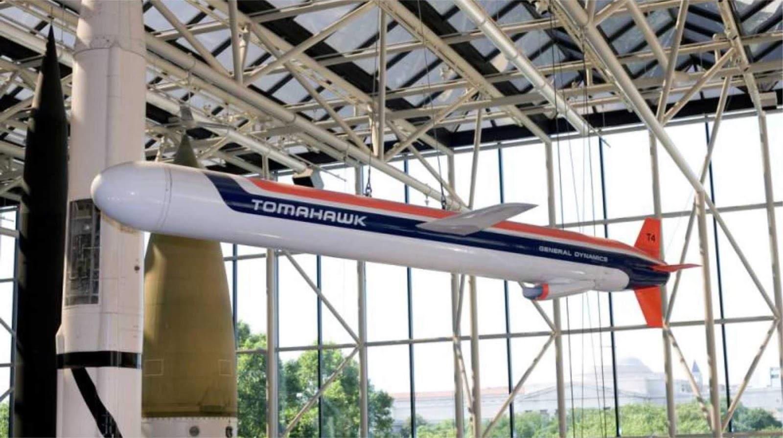 Amerika Serikat pertama kali memperkenalkan Blok Tomahawk IV di luar negeri