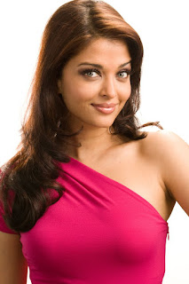 Aishwarya Rai Pink Skin Fit Dress