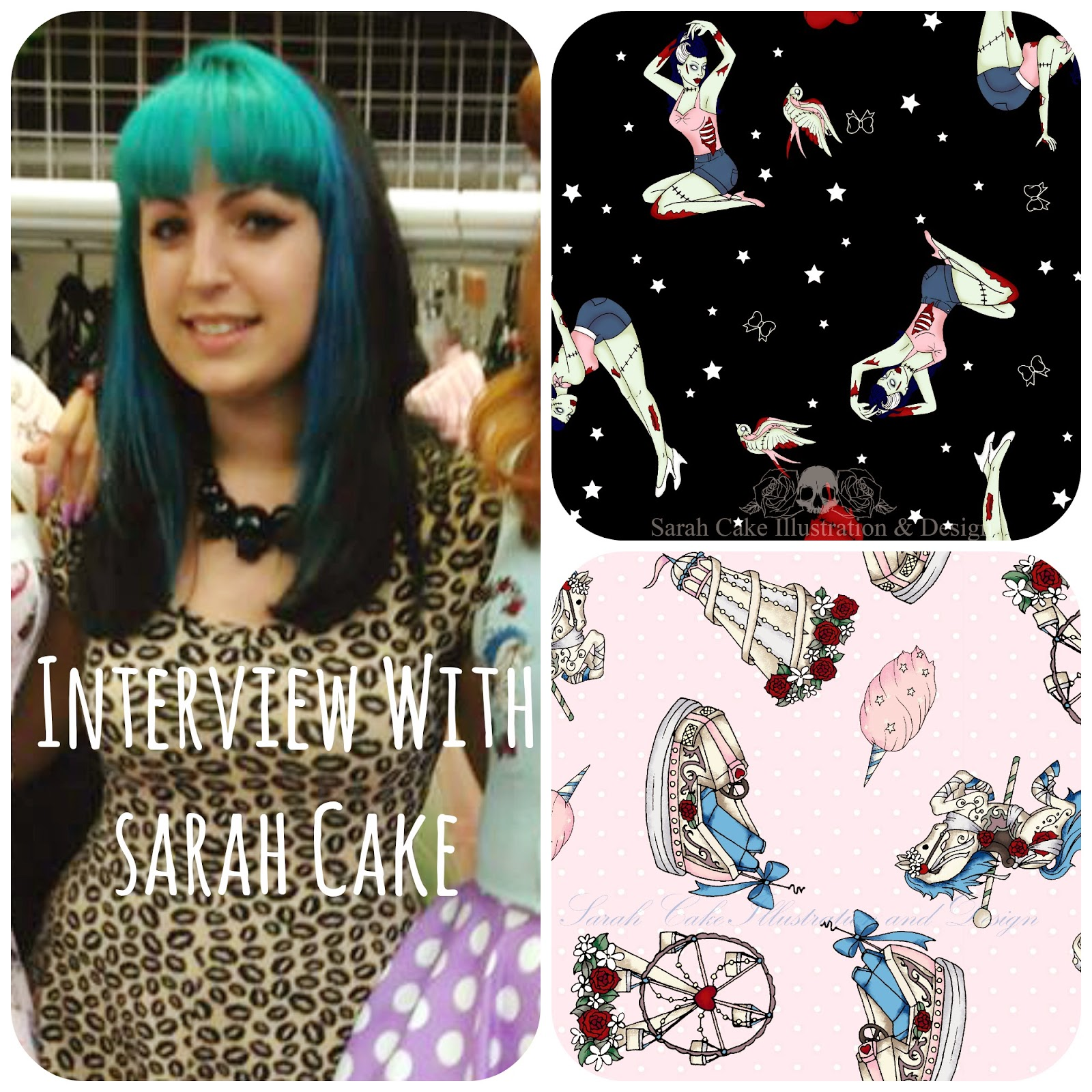Interview with Sarah Cake, Designer for Hell Bunny & Spin Doctor!