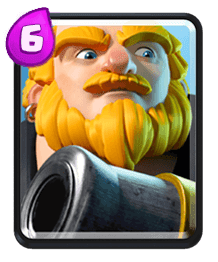 Carta do Gigante Real do Clash Royale