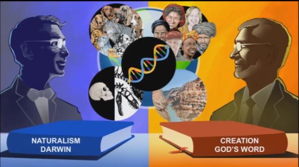Naturalismo de Darwin vs Criação do mundo por Deus