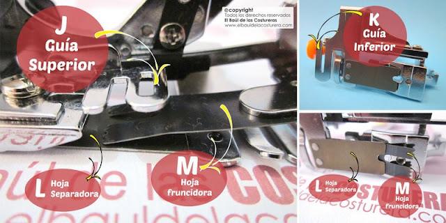 Cómo usar el pie de máquina para ruchar o fruncir cintas y telas Baúl Costureras