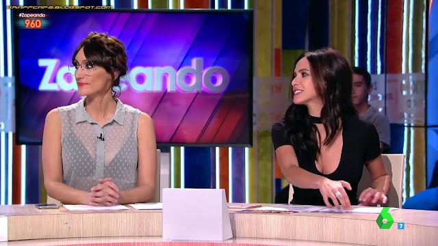 Ana Morgade y Paula Prendes en 'Zapeando'