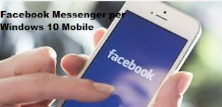 Primi Screenshot Facebook Messenger