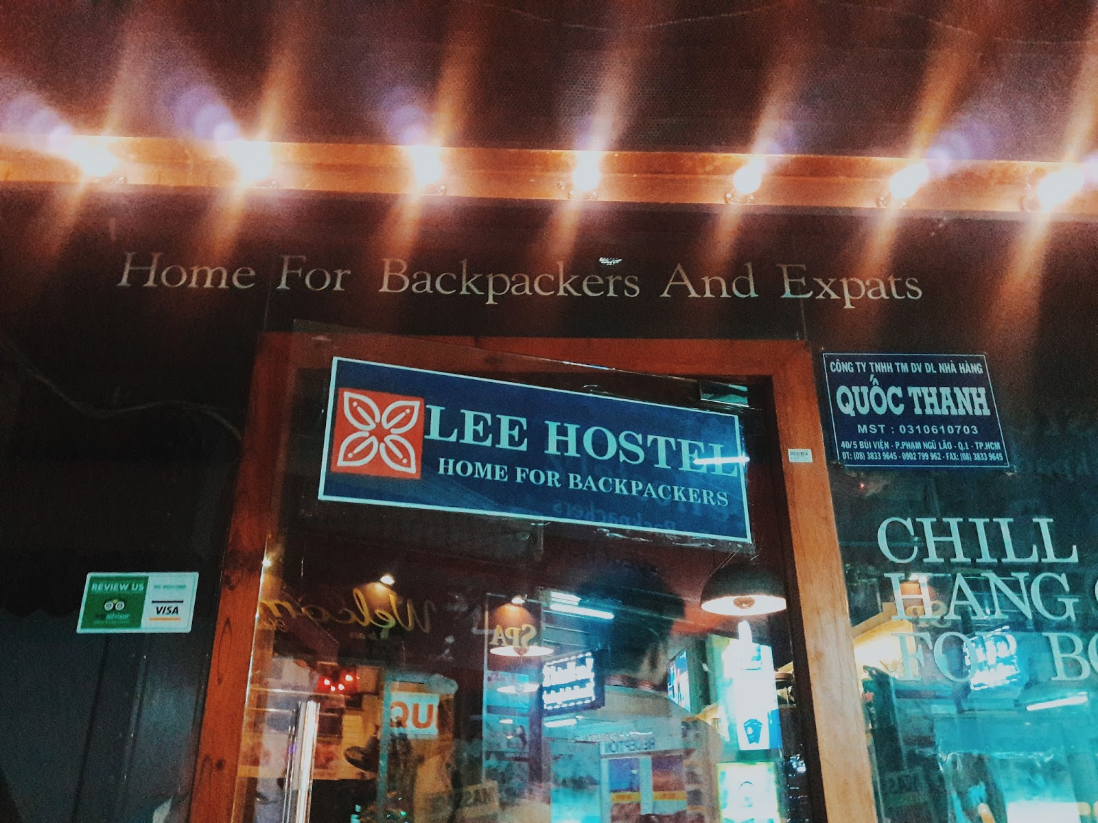 Lee Backpacker Hostel Ho Chi Minh City Vietnam Mardiah Journey