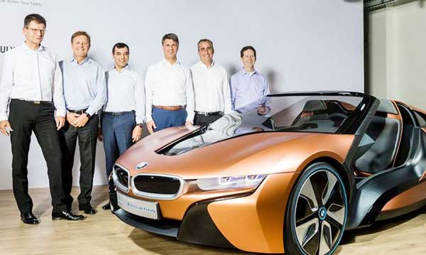2021 BMW collaboration with Intel and Mobileeye, for self-ruling autos