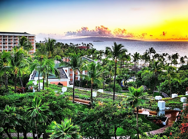 room view at the Grand Wailea