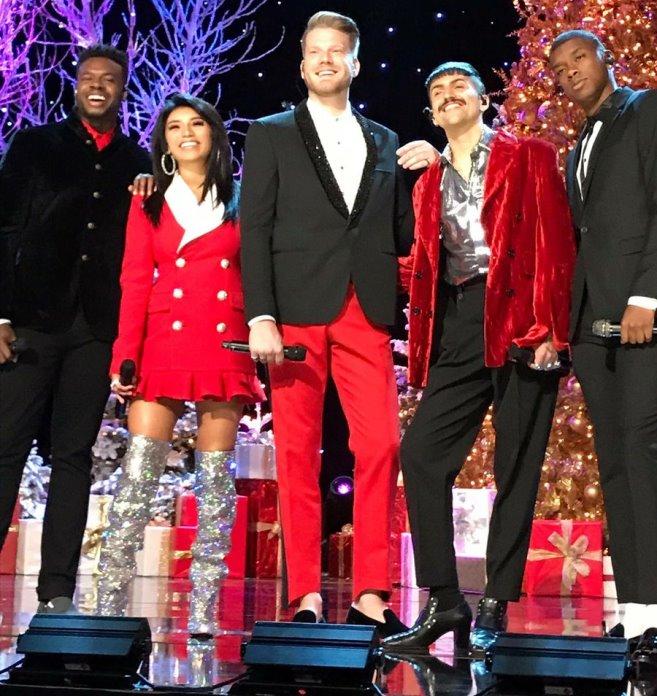 A Very Pentatonix Christmas.A Very Pentatonix Christmas Special 2017 Vocal Range C2 F5