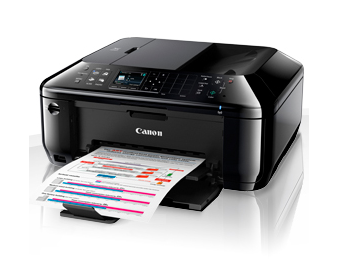 one printer for the business office or domicile to cooperate making utilisation of Ethernet equally good equally able to  Canon PIXMA MX514 Driver Download