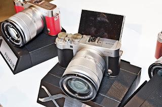 Chua chay chong bui ban voi May anh Fujifilm Xa3