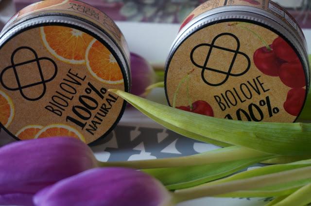 Biolove masło i peeling do ciała - zmysłowe doznania z nutą słodyczy