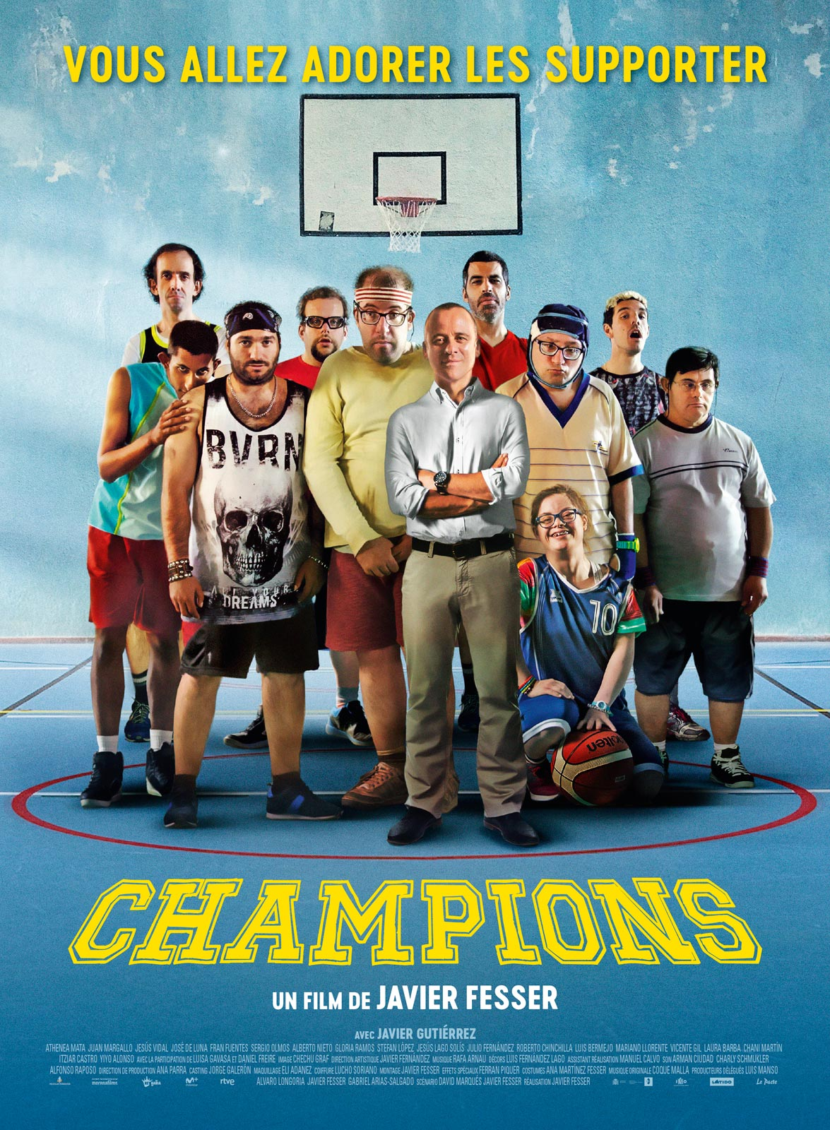 Champions [HDRip] [Streaming] [Telecharger]