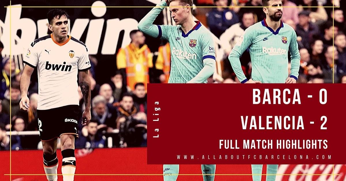 valencia vs barcelona - photo #20