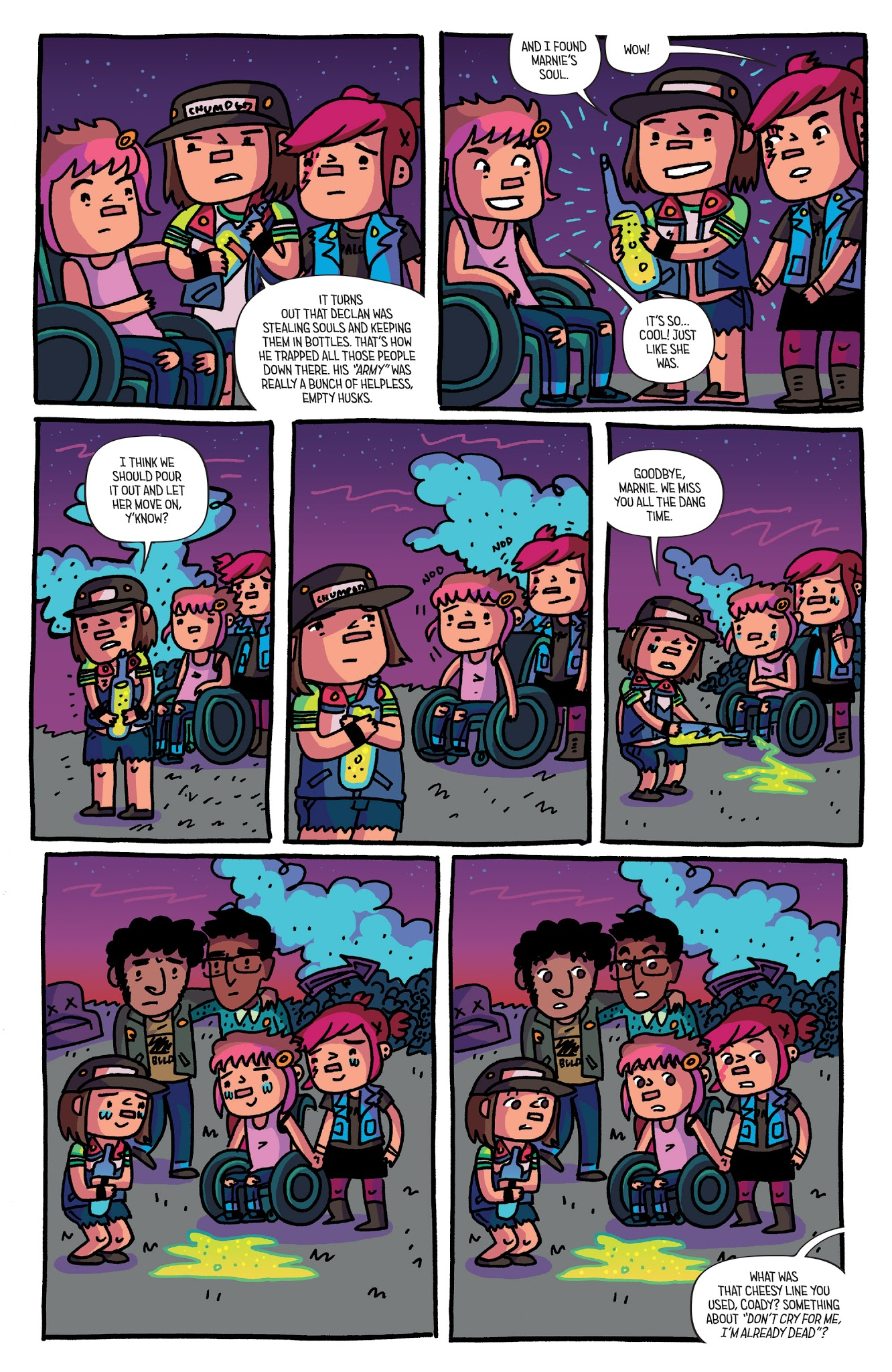 Read online Coady and the Creepies comic -  Issue #4 - 23