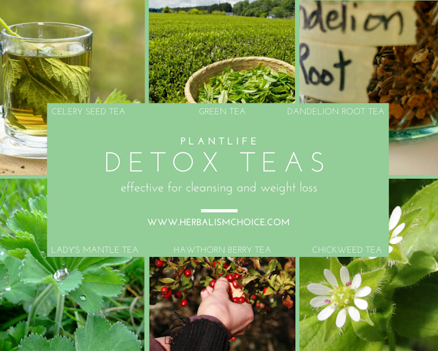 detox teas for cleansing and weight loss