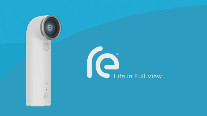 HTC RE officially announced, a camera with a 16MP sensor, WiFi and Bluetooth