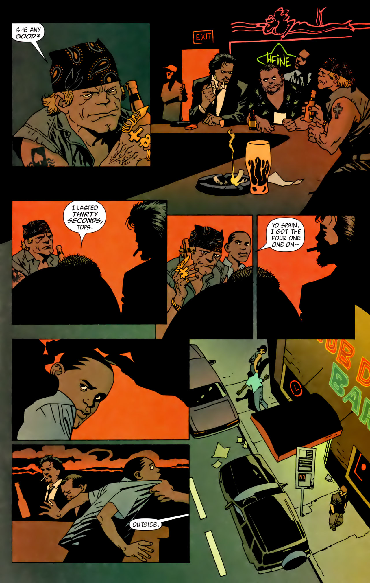 Read online 100 Bullets comic -  Issue #62 - 19