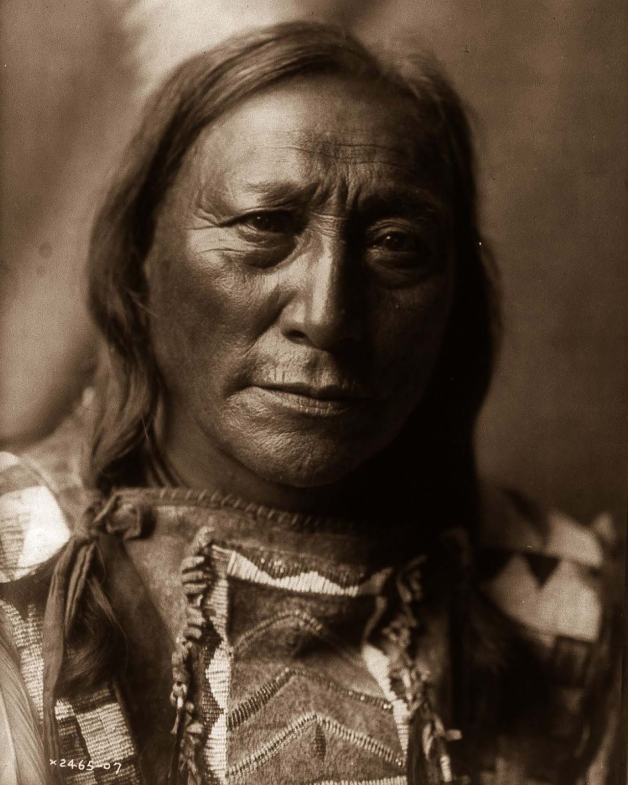 Hollow Horn Bear, a Brulé man. 1907.