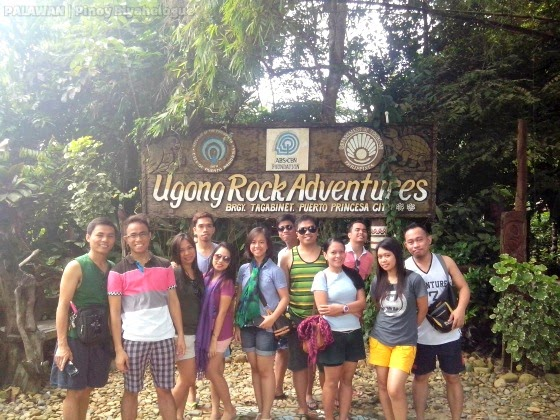 at Ugong Rock Adventures, Puerto Princesa City, Palawan