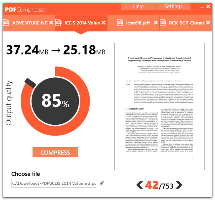 طريقة تقليل حجم ملف pdf
