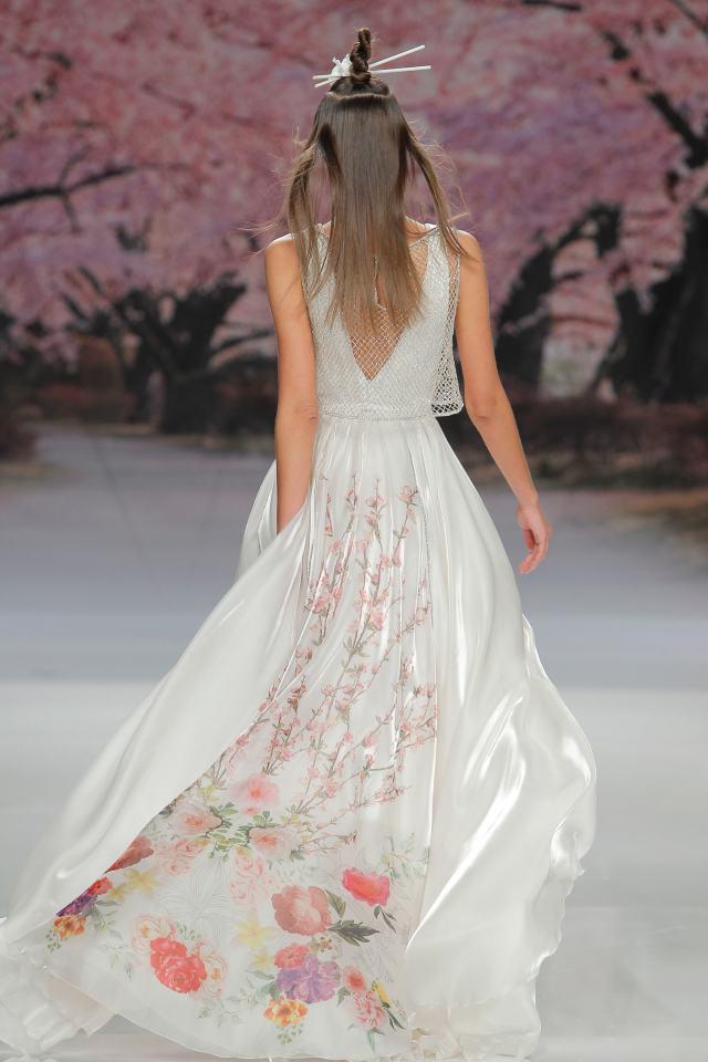 Ibiza stijl bruidsjurk