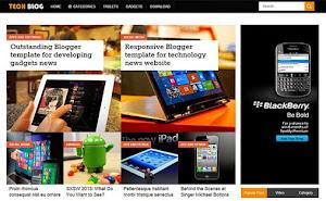 TechBlog Technology blogger template