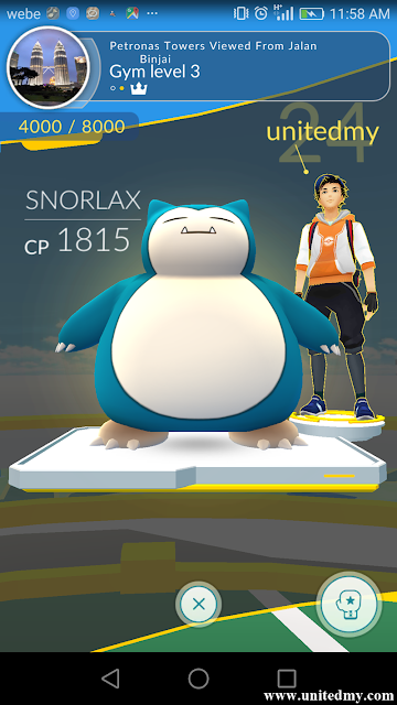 Petronas Towers Pokemon Go Gym