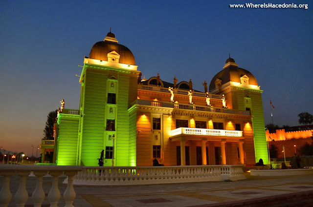 Macedonian National Theater (Македонски Народен Театар), Skopje, Macedonia