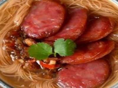 川子麵線菜單