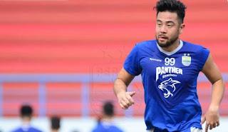 Kunihiro Yamashita Ikut Latihan Persib Bandung