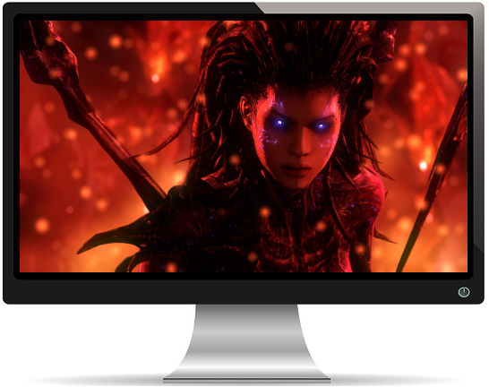 Sarah Kerrigan Starcraft - Fond d'écran en Full HD