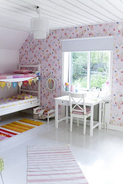 10 cute and lovely bedroom ideas for little girls 7